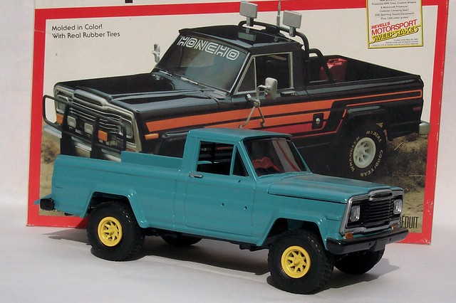 car jeep kit honcho scalemodel revell