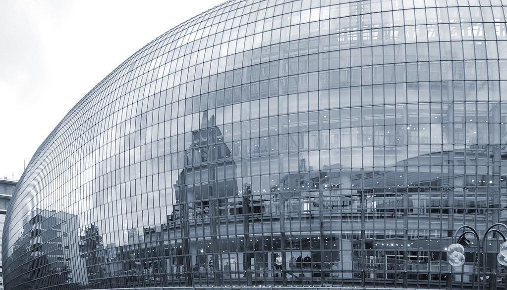 Innenarchitektur Cloppenburg the s best photos of glasfassade and holz flickr hive mind