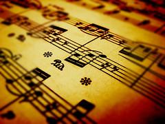 Sheet music (Stock photo by Hiden84)
