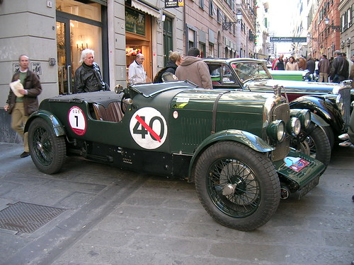 Lagonda 2 Litre Double Twelve 1929 por Maurizio Boi.