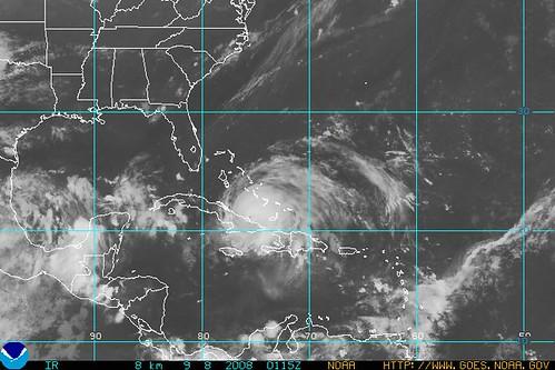 Hurricane Ike  9/8/08 1:15 Zulu