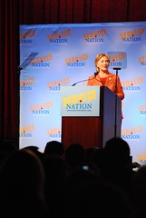 Senator Hillary Rodham Clinton at ServiceNatio...
