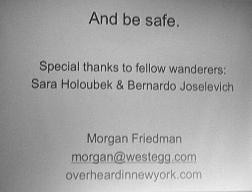 Interesting New York: Morgan Friedman