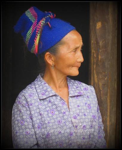 Lao Village Woman