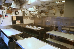Mess quarters looking aft, port corner (cliff1066) Tags: bridge museum hawaii oahu navy submarine worldwarii pearlharbor missile torpedo harpoon controlroom poseidon usnavy officer wahoo engineroom polaris galley ussmissouri deckgun antiaircraft caliber ballistic navigationsystem parche ussbowfin historiclandmark conningtower wardroom battleflags submarinemuseum quadgun