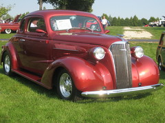 First Prize at the Car Show: 1937 Chevrolet Deluxe Coupe