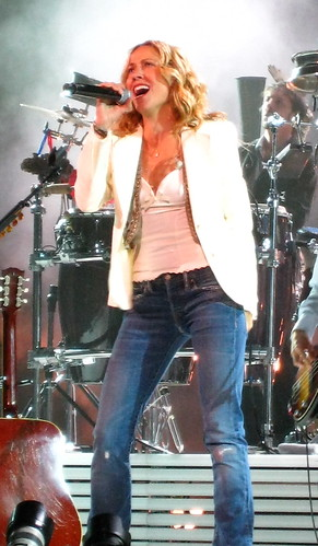 sheryl crow concert live picture <br />Bell Centre, Montreal, Canada