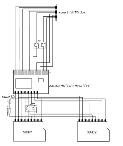 Общая схема подключений