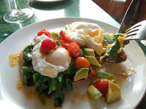 Cafe Paradiso poached eggs 2