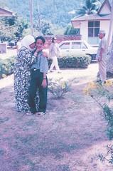Me & Mak (omaQ.org & Red Frame Memories) Tags: me mak ayah telukbatik nissanstanza auzani