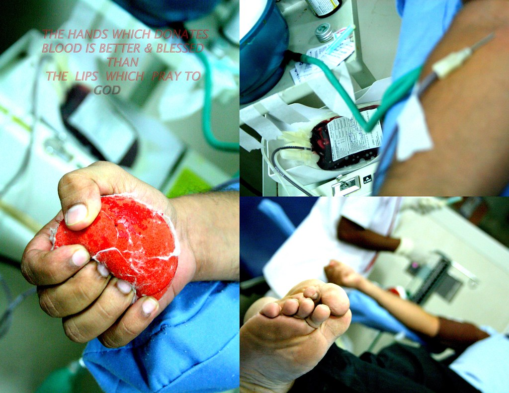 October 1, the national voluntary blood donation day. ...