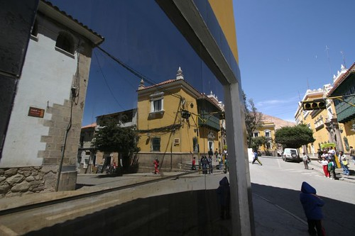 Reflections in Potosi - Bolivia.