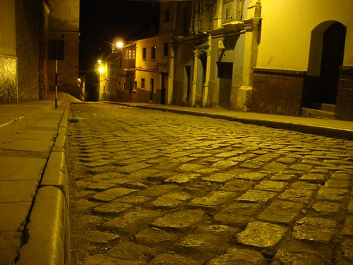 Potosi by night.