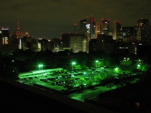 Tokyo desde el Prince Hotel