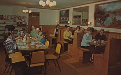Golden Grill Restaurant - Seney, Michigan (The Pie Shops Collection) Tags: vintage restaurant michigan interior iga seney peopleeating goldengrill