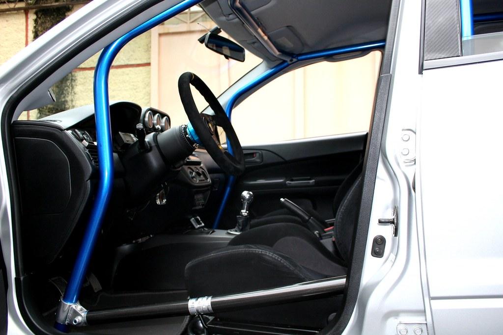 Cusco Rollcage Backseat Use Evolutionm Mitsubishi