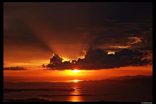 Sunset at Laguna de Bay