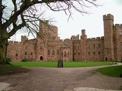 Inside Peckforton Castle, near Tarporley, Cheshire, UK (Ministry) Tags: uk red building castle hotel sandstone cheshire victorian plain listed peckforton tollemache