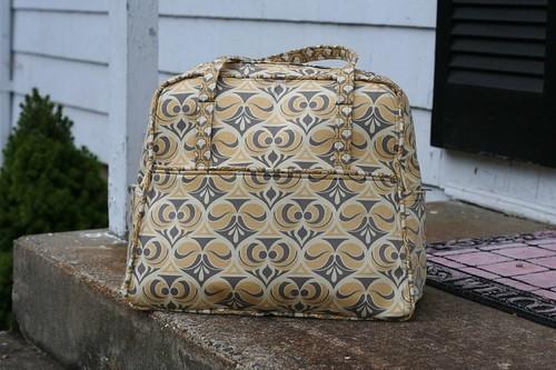 Weekender Bag Knitting Pattern : Drago[knit]fly: FO: Weekender Bag, Version 3.0