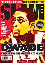 dwayne wade slam magazine cover