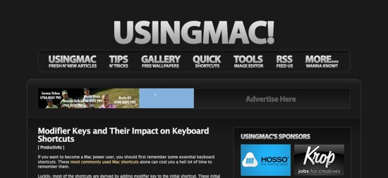 UsingMac Design ver.4