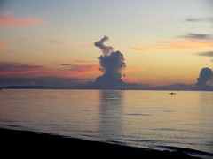 bunny cloud... (Pam Puray) Tags: life sunset nature water beautiful beauty clouds photography interestingness interesting colorful awesome philippines wave rabbits leyte welltaken lifebeauty awesomeshots hindang natureselegantshots