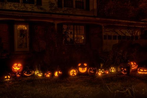 Pumpkins 2008 Jack O Lanterns