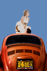the 21 year itch (robolove3000) Tags: girl volkswagen marilynmonroe steve pinup standee roosap