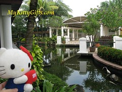 Hello Kitty at Prayer Room of Holiday Inn Glenmarie Hotel, Malaysia