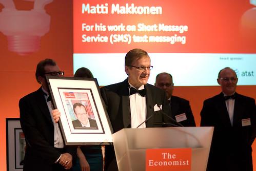 Thumb El inventor del SMS recibe premio a La Innovación en Economía