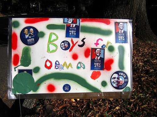 Boys for Obama