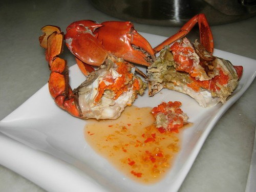 crab with roe