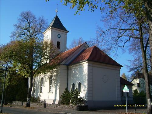 die Hermsdorfer Dorfkirche