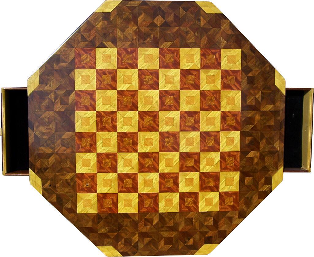 Medium Walnut Chess Table
