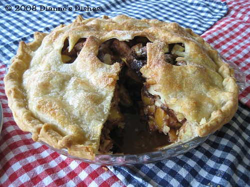 Election Day Apple Pie: