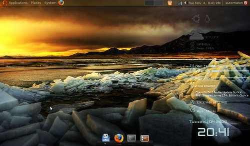 Intrepid Ibex (Ubuntu) on Acer Aspire One por iconolith.