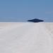 UFO on salar de Uyuni, Bolivia