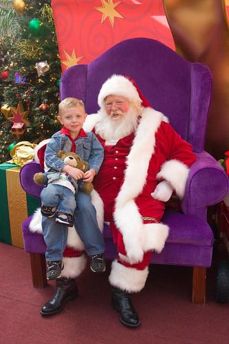 Alex & Santa
