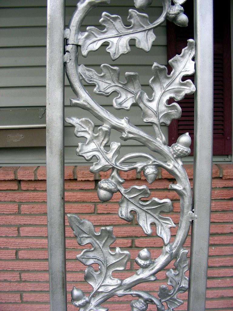 Vintage Cast Aluminum porch pillars