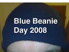 Ankündigung Blue Beanie Day 2008