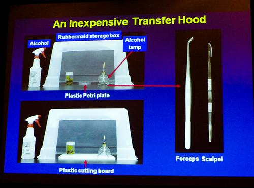 Inexpensive Transfer Hood