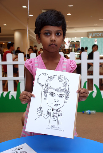 caricature live sketching for West Coast Plaza day 2 - 40