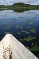 Juhannusaamu (Ronathan) Tags: kesä järvet veneet lumpeet