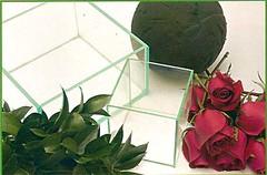 3050331798 9c4dc91d83 m d Faça você mesma: Arranjo de mesa de casamento com rosas