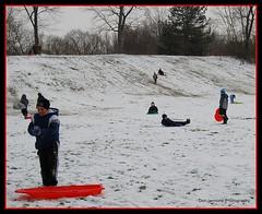 SC&S-22 (Don Iannone) Tags: snow castle children sledding sledriding squirescastle northchagrinreservation clevelandmetroparks nikond80 doniannone childresledriding mayfieldohiosledriding