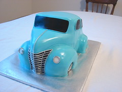 4TY FORD (alana_hodgson) Tags: ford car cake sedan carved 3d 1940 sculpted sweettreats
