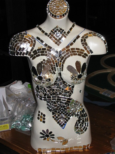 WIP - Mirrored torso - Stella, day 4