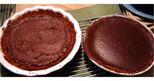 Heavenly Pie and Chocolate Pumpkin Pie