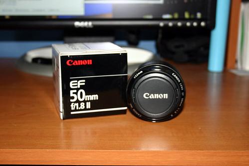 Canon 50mm f/1.8 mk ii