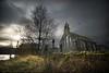 Church at Loch Achray (gms) Tags: uk winter tree church grass scotland gloomy loch trossachs lochachray achray queenelizabethforestpark